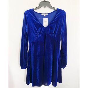 NWT $110 Vanity Room Velvet Dress